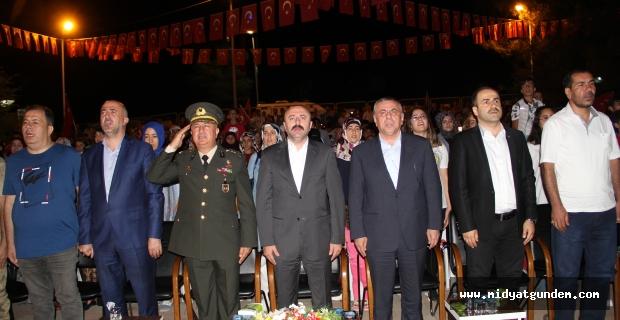 15 Temmuz Demokrasi ve Milli Birlik Günü etkinlikleri