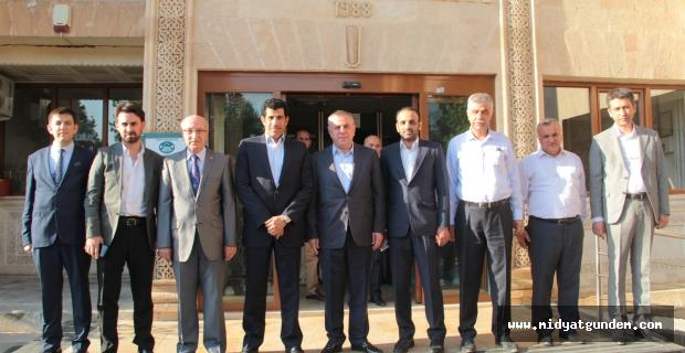 Katar Büyükelçisi Salim Mübarek Al-Shafi, Midyat Temasları başladı