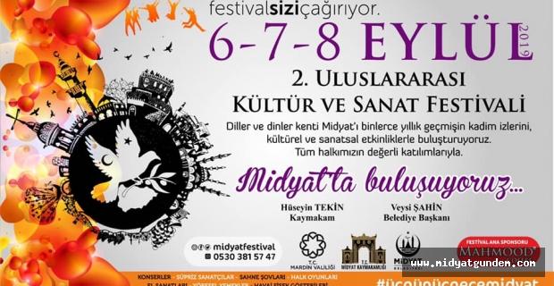 2. Uluslararası Midyat Kültür ve Sanat Festivali Hazırlıkları Son Hız Devam Ediyor