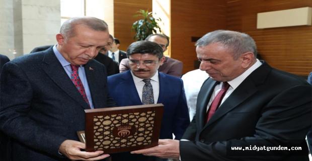 Cumhurbaşkanı Erdoğan'a Festival Daveti