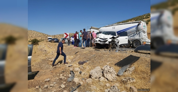 Midyat'ta trafik kazası: 1 ölü 3 yaralı