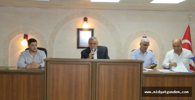 Midyat Belediye Meclisi Toplantısı gerçekleşti