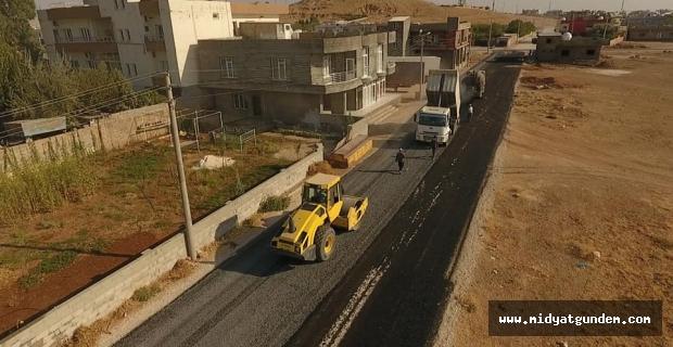 Ortaköy Mahallesinde yol çalışmaları başladı