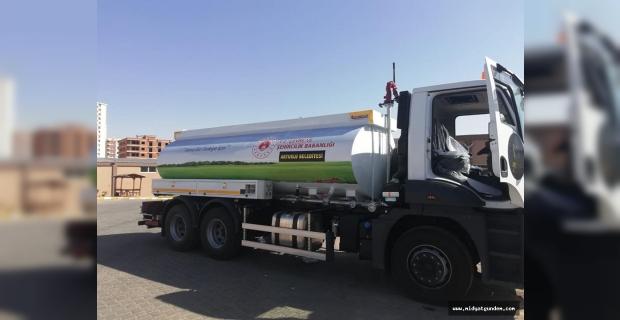 Çevre ve Şehircilik Bakanlığı'ndan Artuklu Belediyesi'ne araç desteği