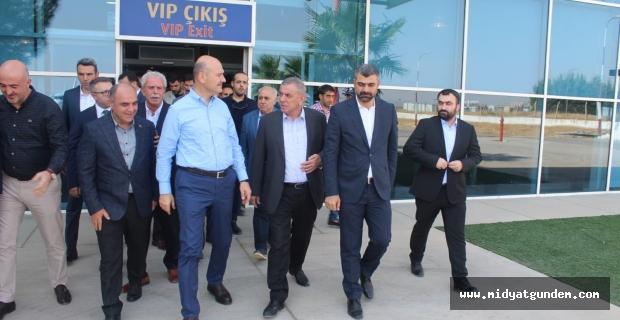 İçişleri Bakanı Soylu Mardin'de