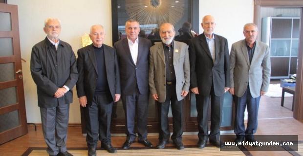 Akademisyen heyeti Başkan Veysi Şahin'i ziyaret etti