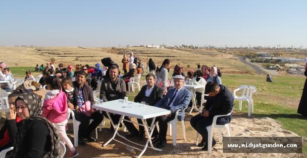 Midyat'ta uçurtma ve piknik organizasyonu