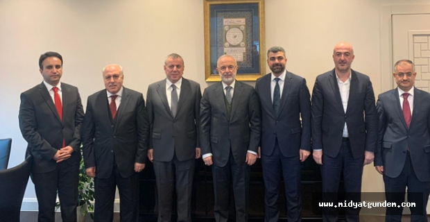 Başkan Şahin, Ankara'da temaslarda bulundu