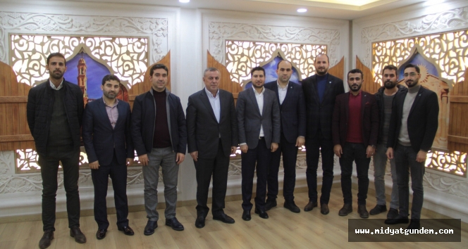 TÜGVA Genel Başkan yardımcısı Balta Belediye Başkanı Şahin'i ziyaret etti