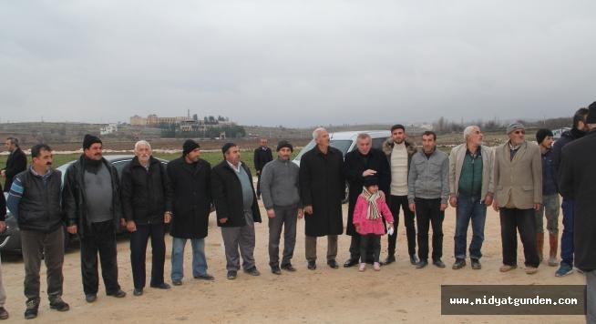 Başkan Şahin'den, mahalle ziyareti