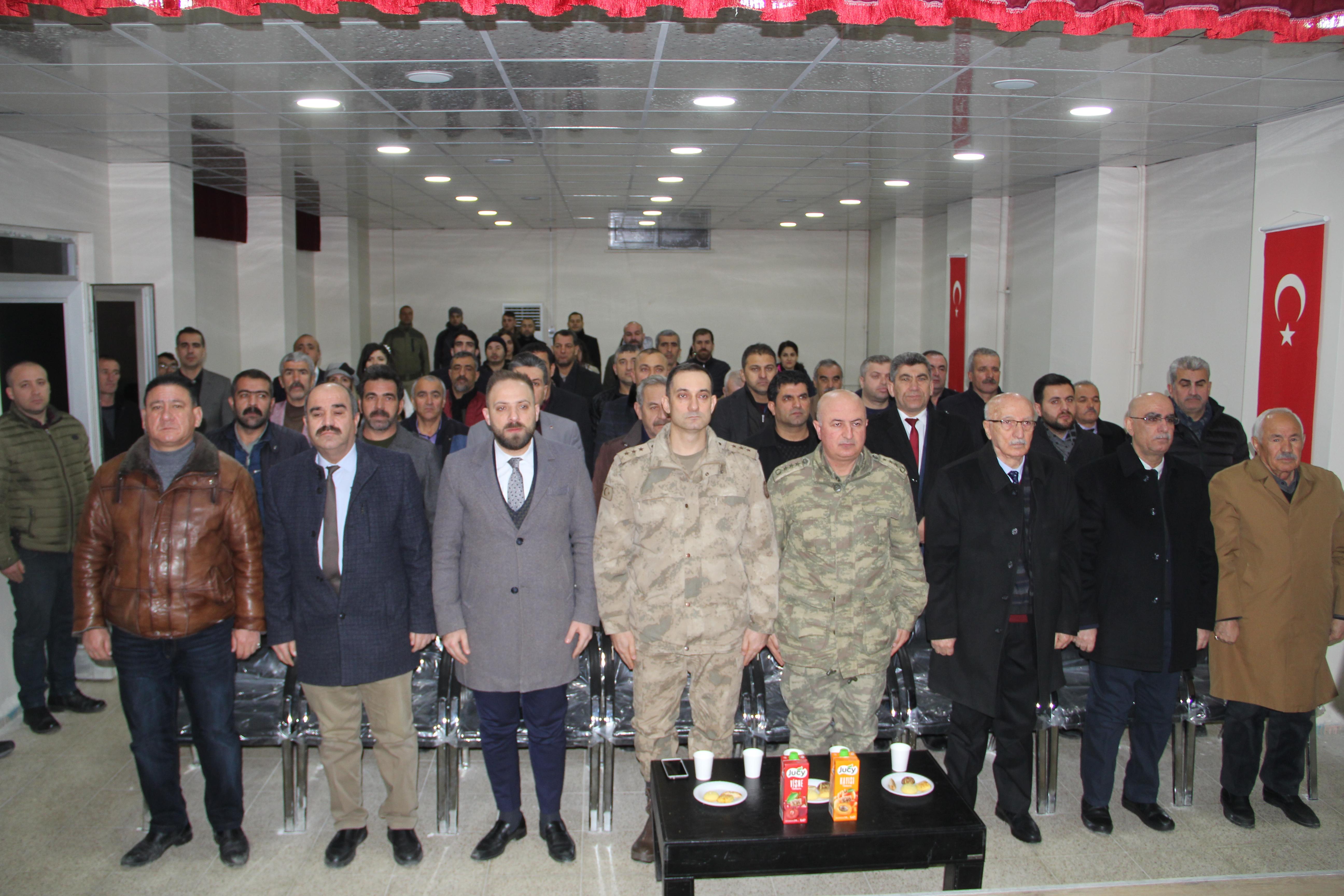 TOKİ Konferans salonu törenle hizmete açıldı