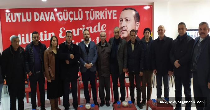 UMDER' den AK Parti Midyat İlçe Başkanlığına Ziyaret