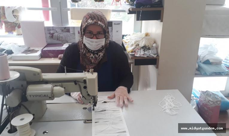 Mardin Olgunlaşma Enstitüsü Maske Üretiyor