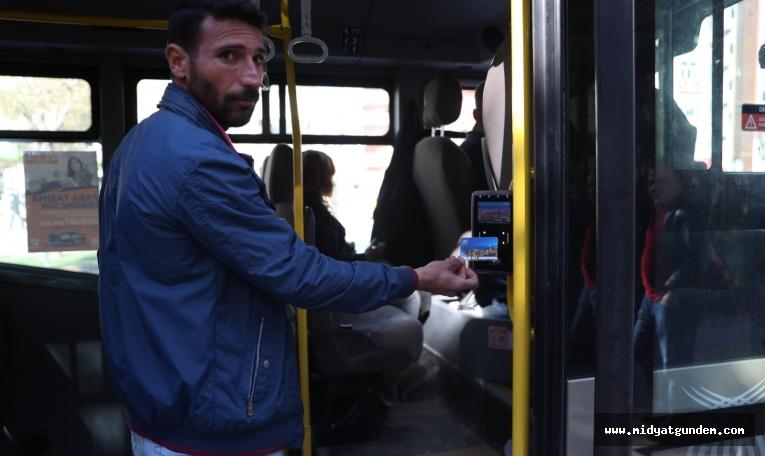 Toplu taşımda Mardin Kart dönemi başladı