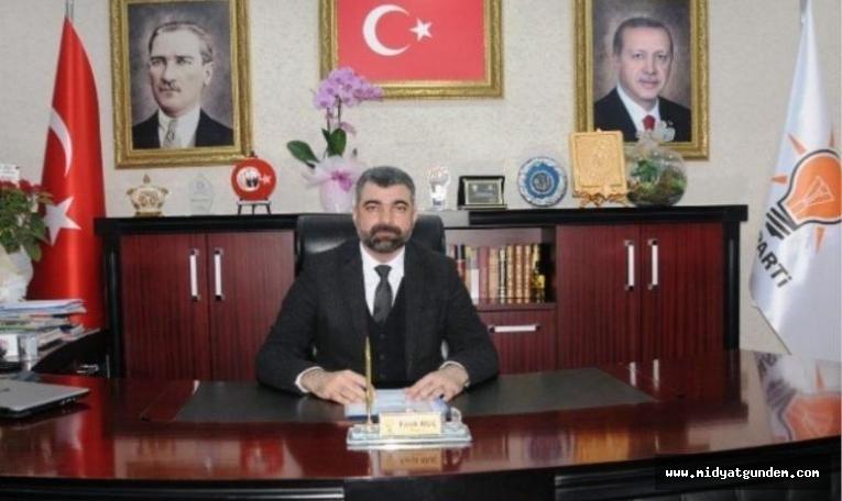 AK Parti Mardin İl Başkanı Kılıç'tan Ramazan Bayramı Mesajı