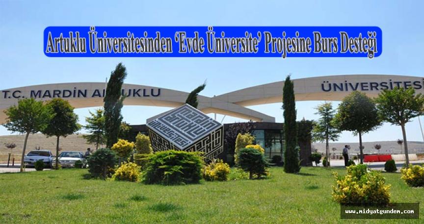 Artuklu Üniversitesinden 'Evde Üniversite' Projesine Burs Desteği