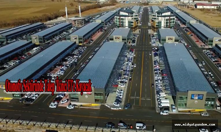 Otomotiv Sektöründe Talep 'İkinci El'e Kayacak