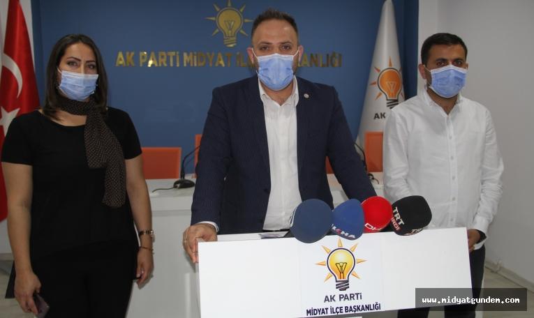 AK Parti İlçe Başkanı Yarış'tan, Basın Açıklaması