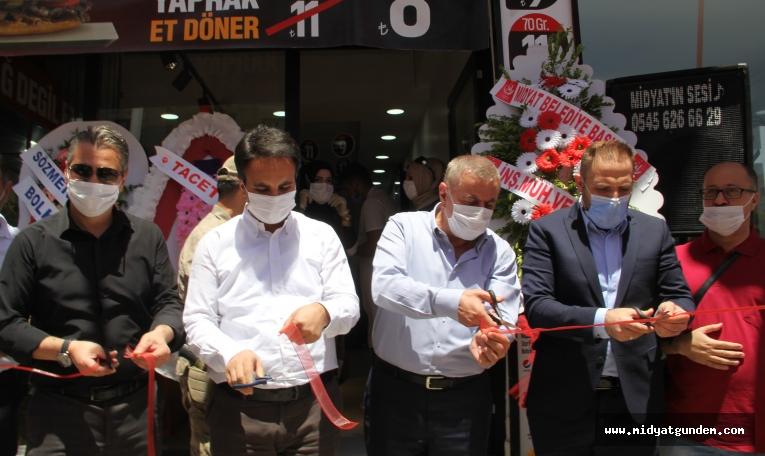 Midyat'ta normalleşmenin ardından üç yeni işyeri açıldı
