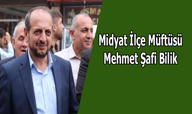 Müftü Şafi Bilik Yenişehir'e atandı