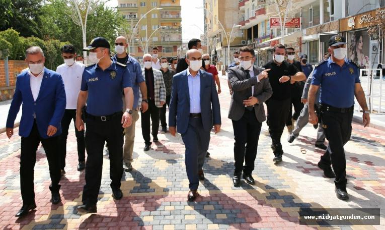 Vali Mahmut Demirtaş, Ziyaretlerine Devam Ediyor