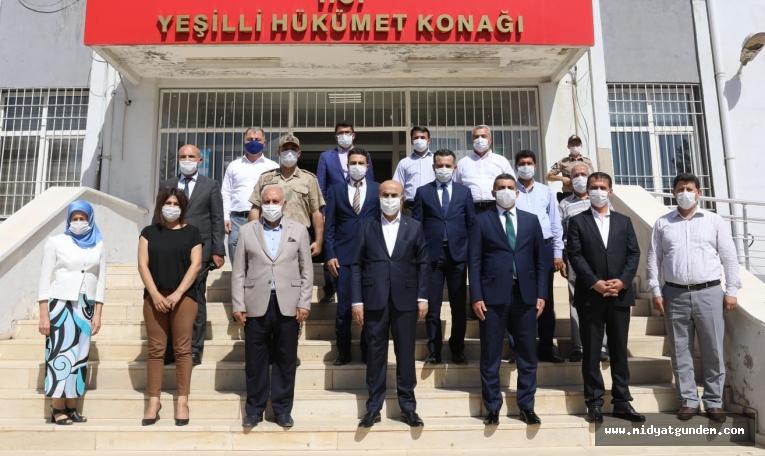 Vali Mahmut Demirtaş'tan Yeşilli İlçesine Ziyaret
