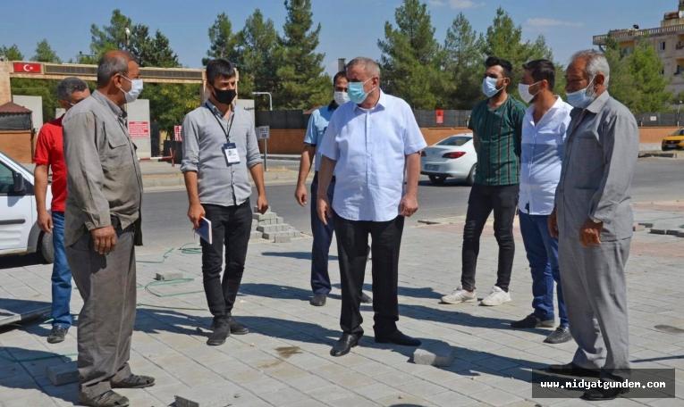 Başkan Şahin, Devam Eden Projeleri Yerinde İnceledi