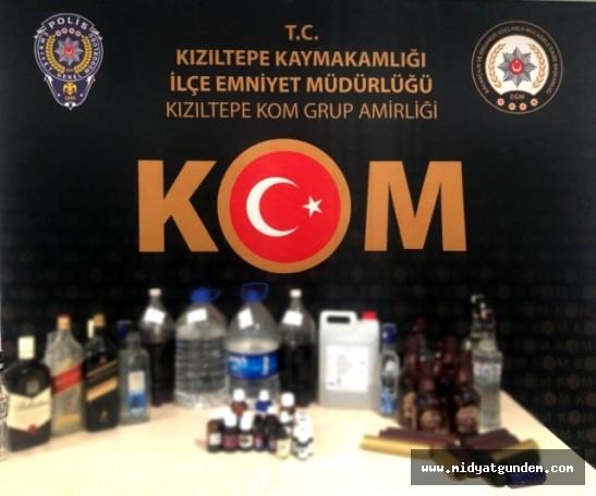Sahte içki operasyonu Mardin'e de sıçradı