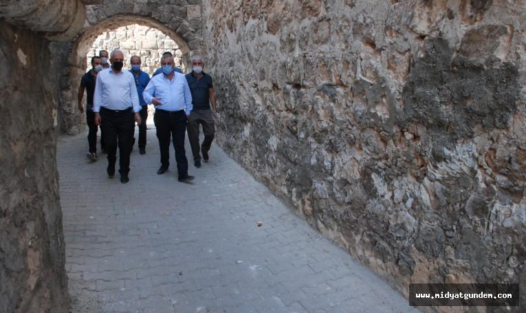 Başkan Veysi Şahin Midyat'ın Kadim Tarihini Şahlandırıyor