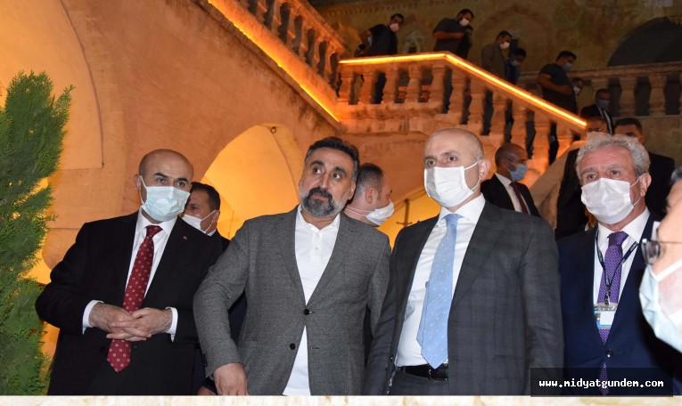 Ulaştırma Bakanı Adil Karaismailoğlu'ndan Mardin Artuklu Üniversitesine Ziyaret