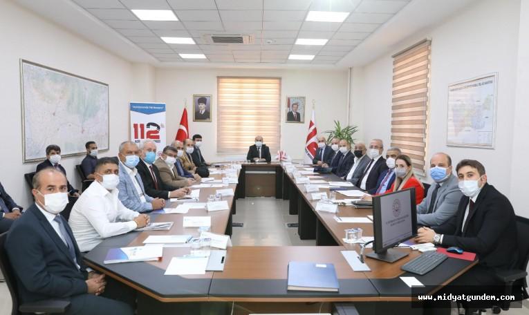 Vali Demirtaş Başkanlığında İstihdam Toplantısı Yapıldı