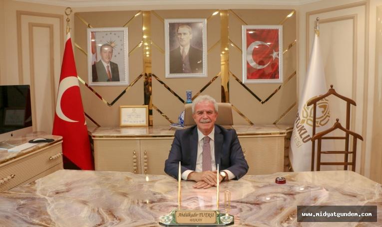 Artuklu Belediye Başkanı Abdülkadir Tutaşı'nın 29 Ekim Cumhuriyet Bayramı Mesajı