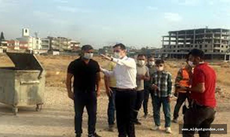 Nusaybin'de asfalt çalışmaları sürüyor