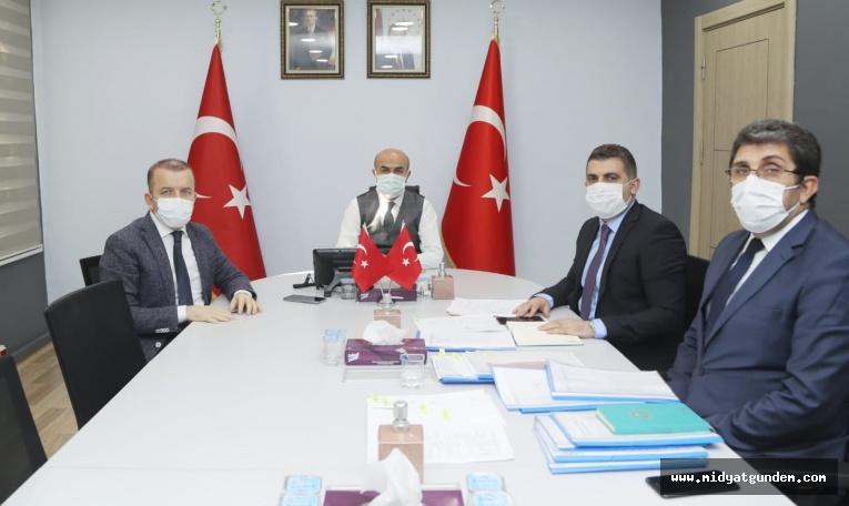Vali Demirtaş Başkanlığında 2. OSB Toplantısı Gerçekleştirildi.