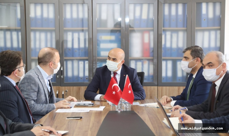"""Vali Demirtaş: """"Kızıltepe'nin içmesuyu sorununu ortadan kaldıracağız"""""""