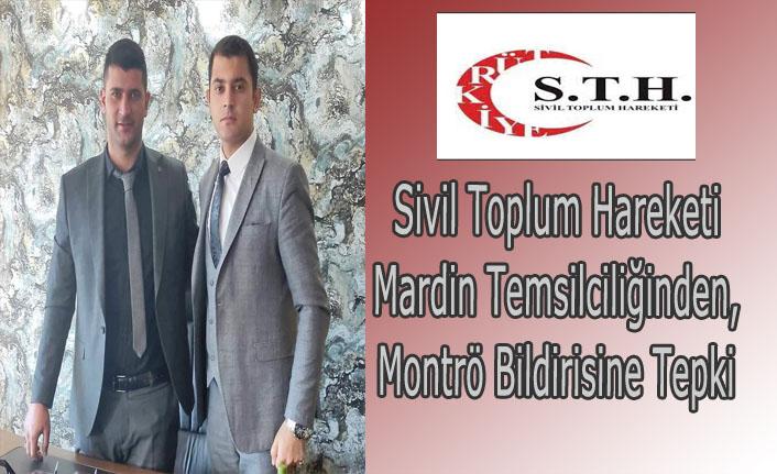 Sivil Toplum Hareketi Mardin Temsilciliğinden, Montrö Bildirisine Tepki
