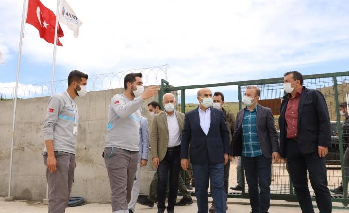 Vali Demirtaş, Savur'da altyapı ve üstyapı çalışmalarını inceledi