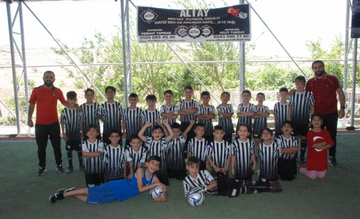 Midyat'ta Altay Spor Okulları Açıldı
