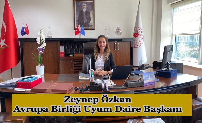 Zeynep Özkan, Avrupa Birliği Uyum Daire Başkanı olarak atandı
