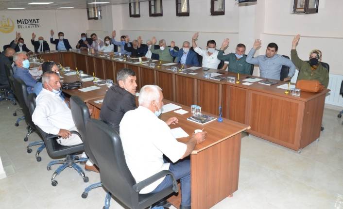 Midyat Belediyesi Ekim Ayı olağan meclis toplantısını gerçekleştirdi
