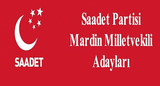 Saadet Partisi Mardin Milletvekili Adayları