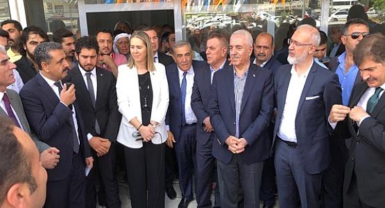 AK Parti Mardin Adaylarına Coşkulu Karşılama