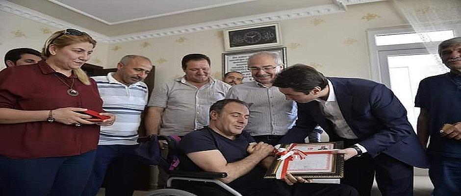 15 Temmuz Gazisi Halil Algan'a Yeni Ev Sürprizi