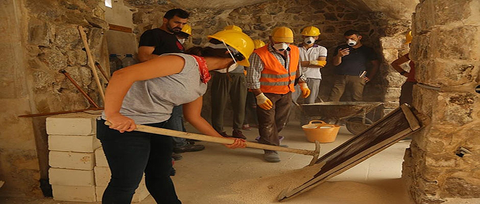 Mardin Müzesinden Koruma Güz Kampı