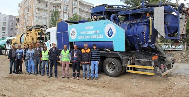 Midyat'ta Yeni Kombine Kanal Açma Aracı Hizmete Girdi