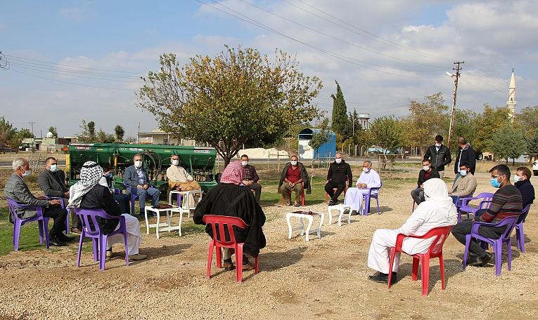 Dicle Elektrik Mardin İl Müdürü muhtar ve çiftçilerle bir araya geldi