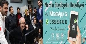 Büyükşehir Belediyesinden WhatsApp'lı Çözüm