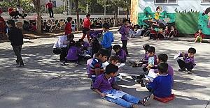 Gazipaşa ortaokulunda her gün kitap okuma saati düzenleniyor