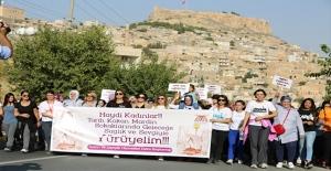 Mardin'de Kadınlar Sağlık İçin Yürüdüler