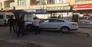 Midyat maddi hasarlı kaza